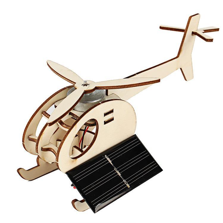 تكنولوجيا ديي مصغرة الطائرات الشمسية اختراع للاهتمام من التلميذ الاستخبارات متوافق تجميع نموذج لعب ألعاب للأطفال