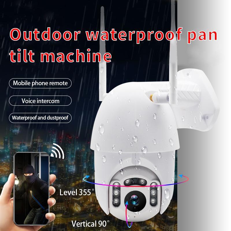 كاميرا في الهواء الطلق PTZ IP لاسلكية نقل الكشف بالأشعة تحت الحمراء للرؤية الليلية للماء مراقبة RJ45 / واي فاي قبة CCTV