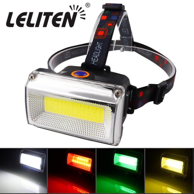 USB Rechargeable With Built in 18650 Battery led headlamp Fishing headlight Hunting head lamp Red Green White Light