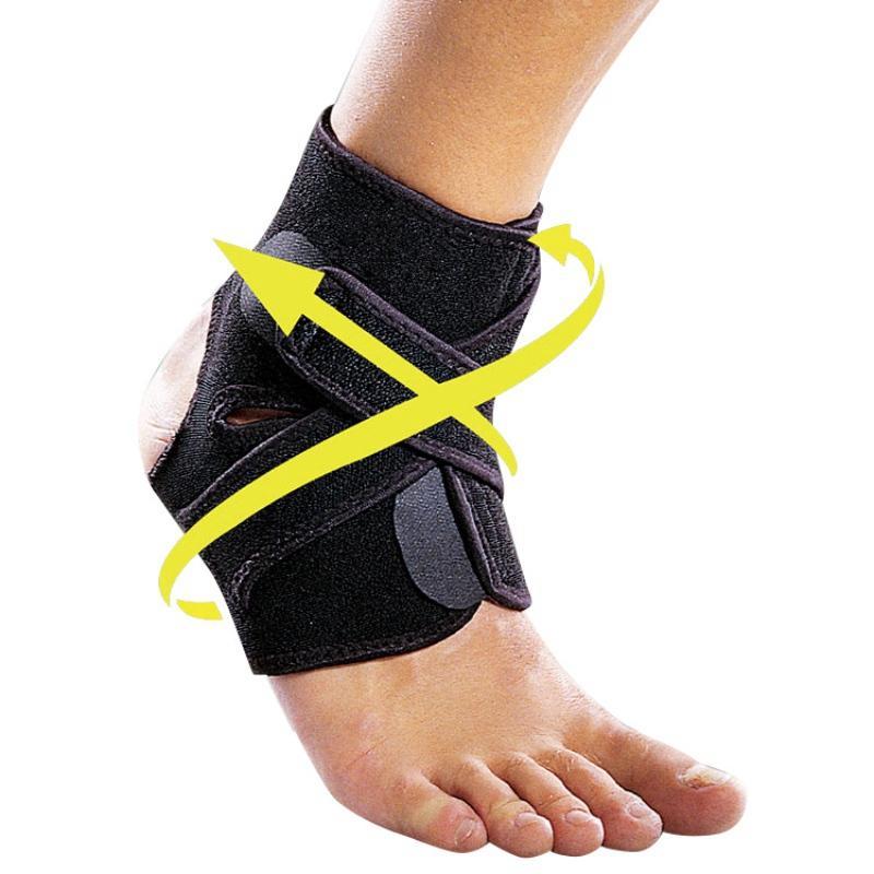 Открытый Foot Protect Спорт защитное снаряжение баскетбол футбол растяжение давление ремень защитная лодыжка регулируемая подставка для ног