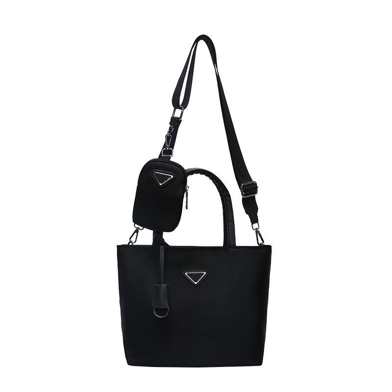 Pink sugao designer luxury handbags purse women bag 2pcs/set shoulder bag designer crossbody bag high quality with padlog