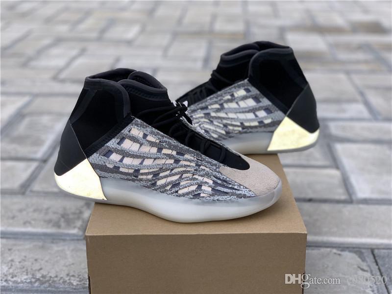 2020 Nouvelle version Originals Chaussures de basket-ball pour hommes Quantum Designer Baskets de week-end All-Star EG1535 Authentic Quality With Box US 4-12.5