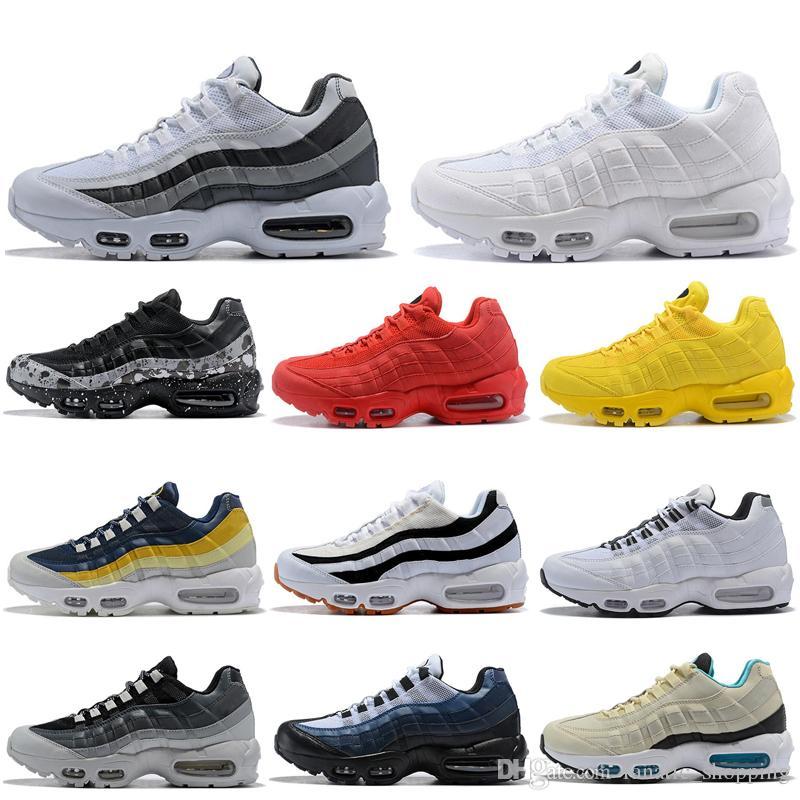 أحذية الركض المخفضة على أنثراسايت ثلاثية أسود أبيض أحمر وردي أزرق رمادي إمرأة رجل مدرب Ourdoor Sport Sneakers 36-45
