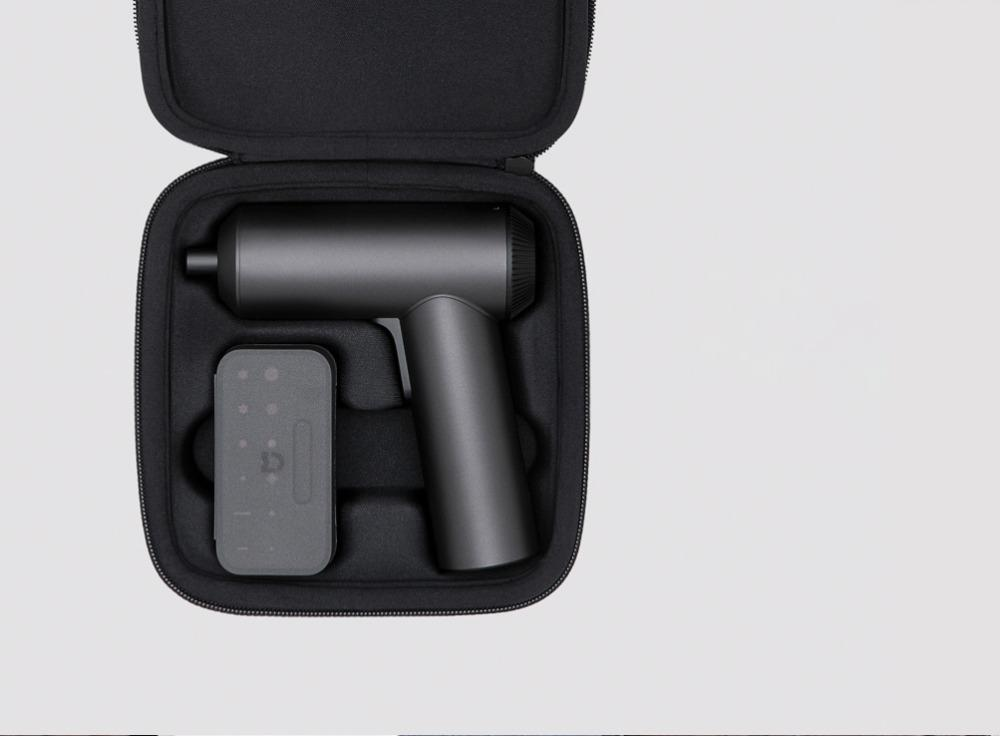 Mijia elétrica chave de fenda Cordless 2000mAh bateria recarregável 5N.M Torque 12PC S2 Bits PH H SL chaves de fenda