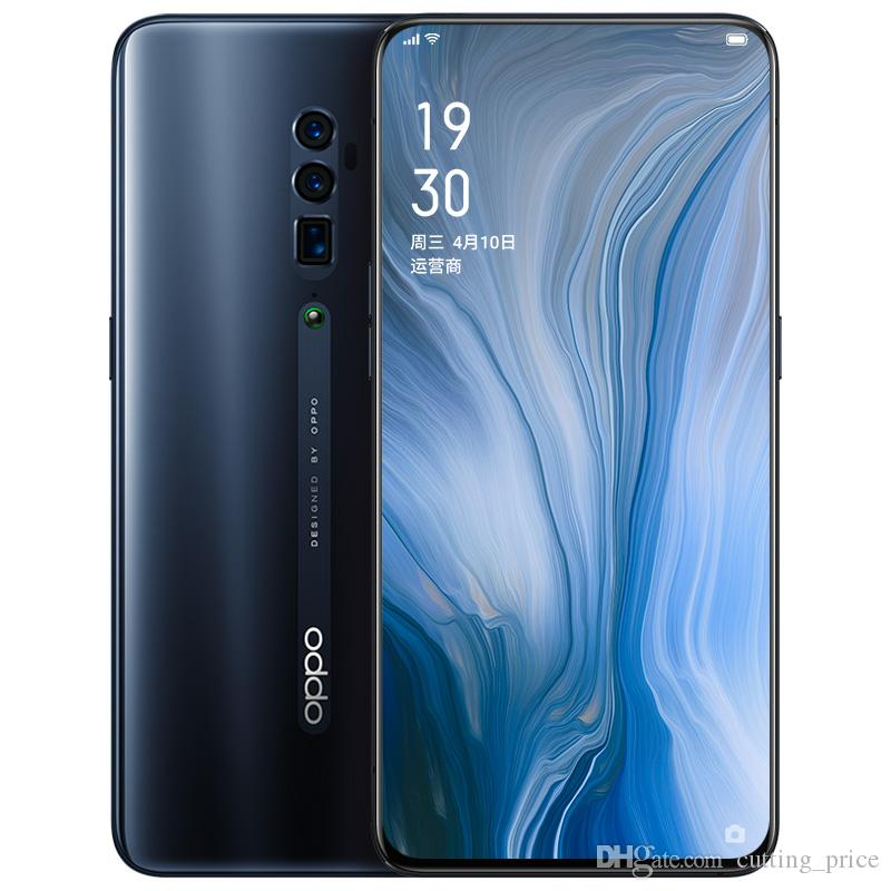 Original OPPO Reno 10X 4G LTE Cell Phone 6GB RAM 128GB 256GB ROM Snapdragon 855 Octa Core 6.6 inch Full Screen 48MP Face ID NFC Mobile Phone