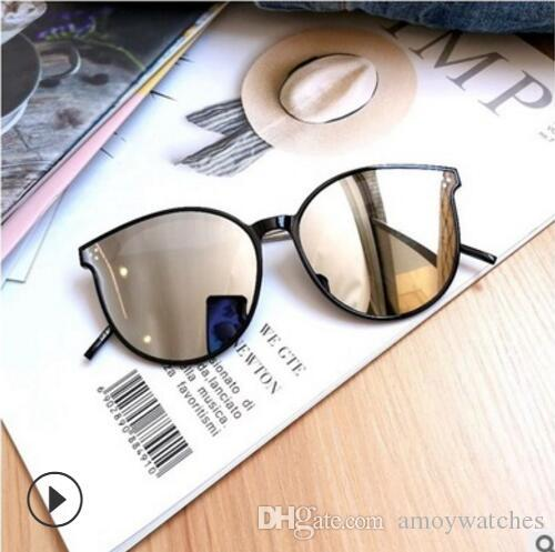 Großhandel Luxus Designer Damen Sonnenbrillen Polarisierende Sonnenbrille Große Sonnenbrille Mit Rundem Rahmen Und Ultraviolettem Schutz Für Männer