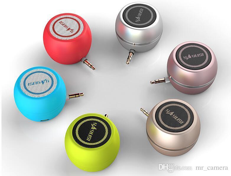 휴대 전화 오디오 미니 직접 스피커 소형 스피커 외부 앰프 연결 모드 3.5MM 오디오 소켓