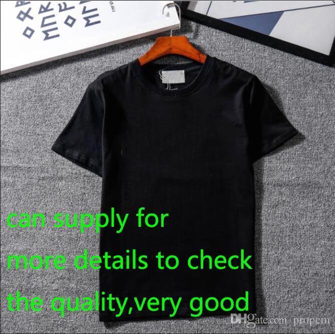 Le nuove camice Designer Mens Abbigliamento SUPERA IL T Shirt Moda estate marea Braned lettere stampate camicia degli uomini vestiti M-2XL