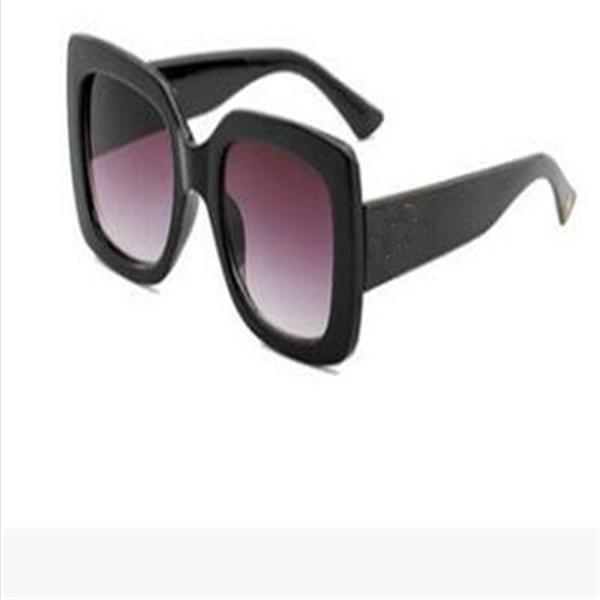 Top 0083 Diseñador Classic Sunglasses Sunglasses de alta calidad, gafas para hombres, gafas de sol de las mujeres Lentes UV400