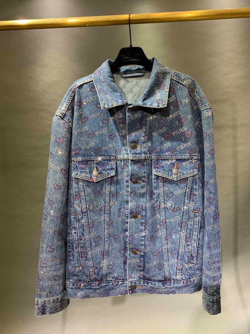 2019 automne nouveau manteau de veste de diamants femmes rmsx 7.10
