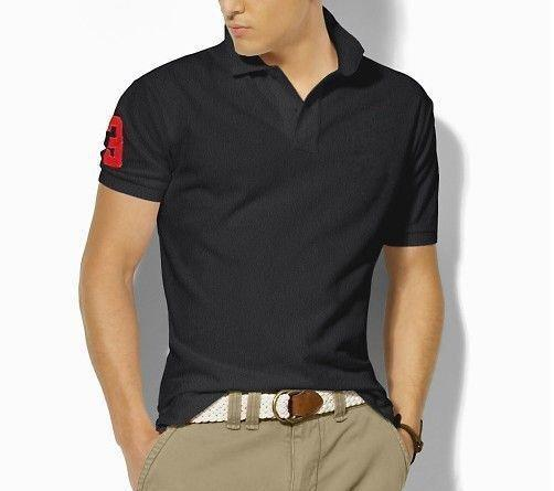 Di alta qualità Polo Classic Shirt Men Solid breve estate manica casual Polo Uomini Ralph T-shirt Mens Polo Camicie 8200 Poloshirt