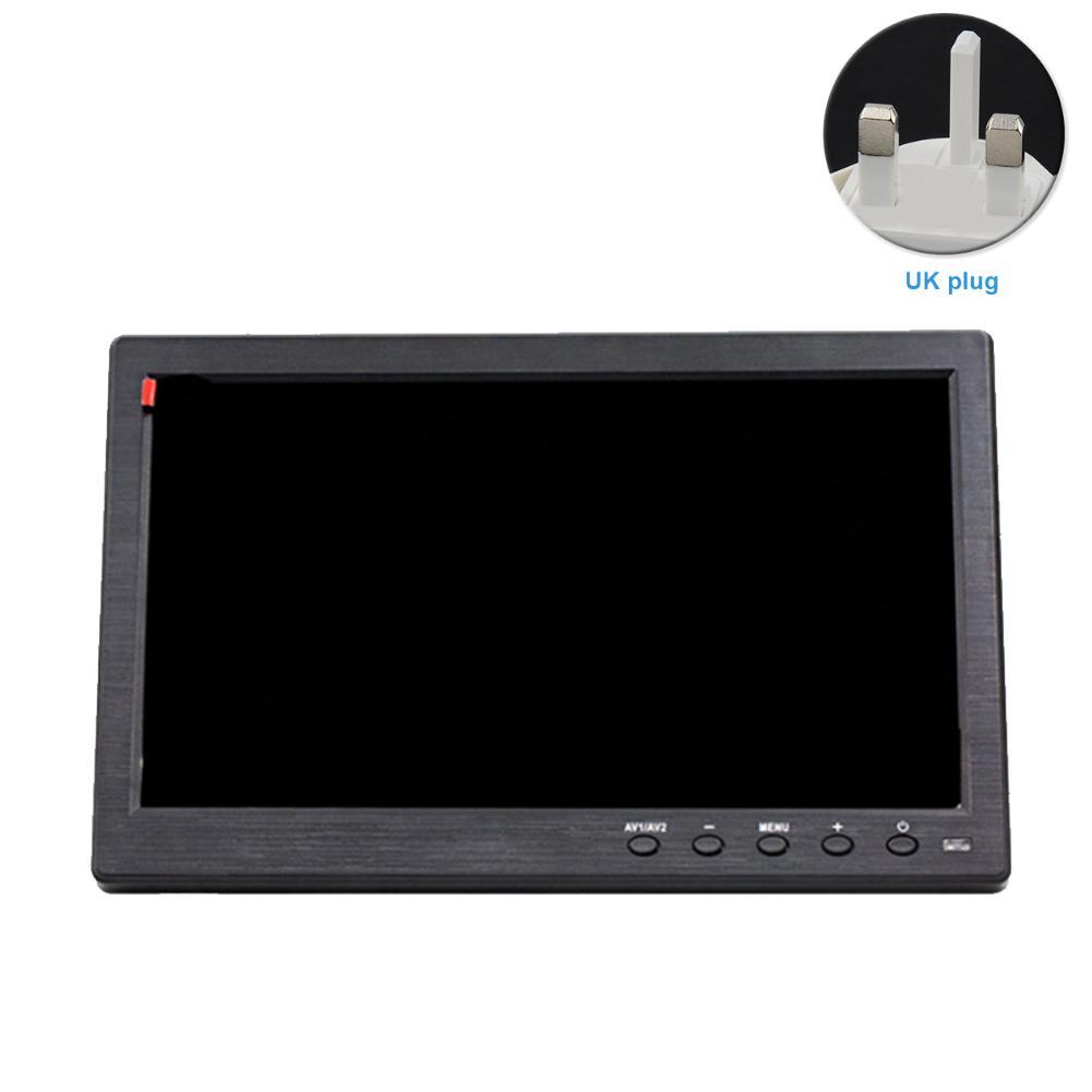 10.1 pulgadas de alta definición Monitor Fácil Uso inteligente de alta compatibilidad de la pantalla de visualización del vídeo del coche montó portátil multifunción de Seguridad