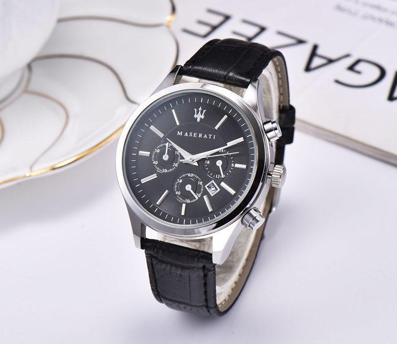 montre maserati menes ou femmes acier ceinture quartz top montre casual watch1