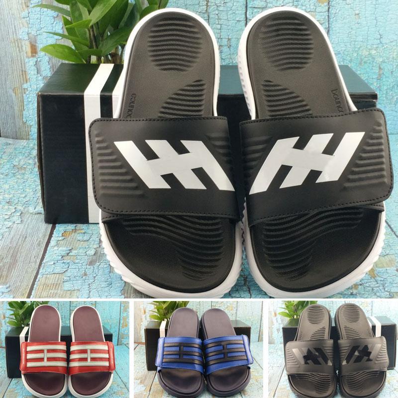 2020 Großhandel CF + STREIFEN W COMFORT Marke Sommer Strand Designer Slipper für Männer Frauen Sandale