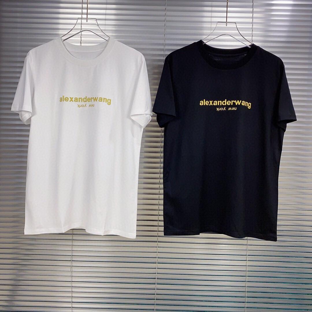 2020 Yeni Yaz moda ve konfor kol hava tasarımcı luxu platformu tişört erkek GUC yıldızı Yüksek son siyah beyaz çok renkli SP003