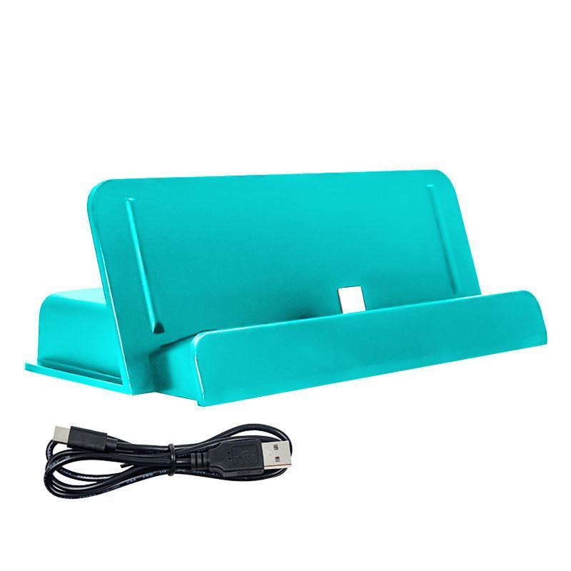 Ajustável USB Type-C Suporte de carga rapidamente Carregador para NS Lite Console desfrutar dos jogos durante o carregamento