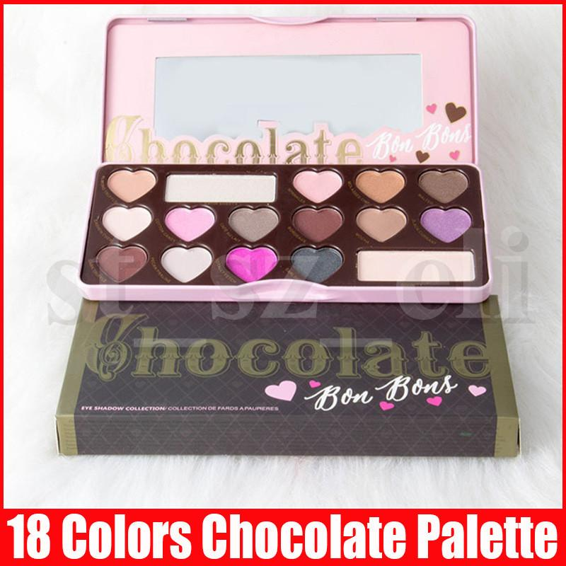 New Eye shadow palette makeup 16 colors chocolate peach matte Eyeshadow shimmer eye shadow palette Collection