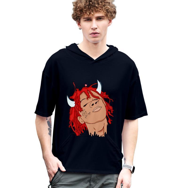 2020 Trippie Redd sudaderas 3D Nueva manga corta de verano Trippie Redd camiseta fresca y transpirable de manga corta de la camiseta de streetwear