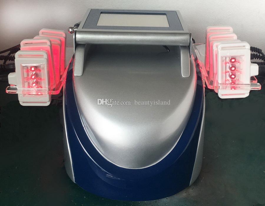 Real Efetivo Portátil I Lipo Laser 650nm 10 Pads Laser Lipolaser Fat Máquina de Queima de Lipolaser para Super Perder Peso