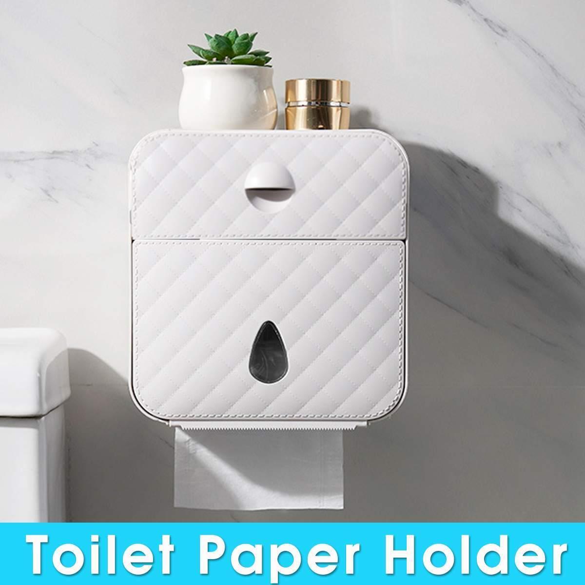주방 욕실 화장실 롤 홀더 종이 케이스 스토리지 박스 T200107 광고 소재 화장지 홀더 방수 종이 타월 홀더