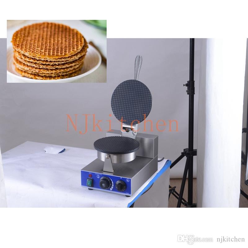 Pain commercial machine électrique 110v 220v Ice Cream Taco Waffle Cônes Maker Egg Roll Crêpe Bols fer Baker Grille-pain