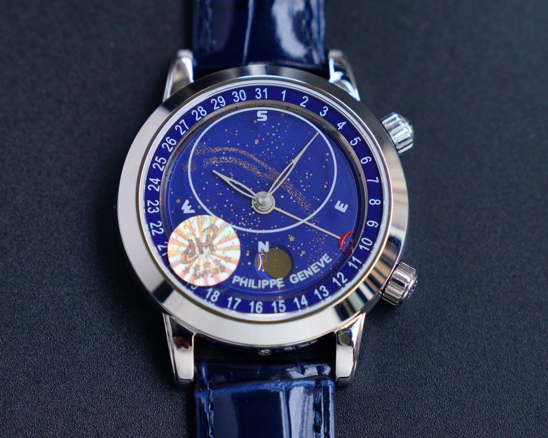 Si tratta di un 2018 Geneva Watch lusso Star9015 con un movimento di 43 millimetri progettata come un orologio di alta qualità, multi-funzionale automatico