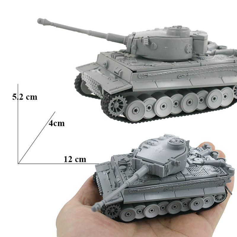 4D kits de edificio modelo Asamblea Modelo Tiger tanque Panzerkampfwagen Vi Juguetes educativos colección de alta densidad del material