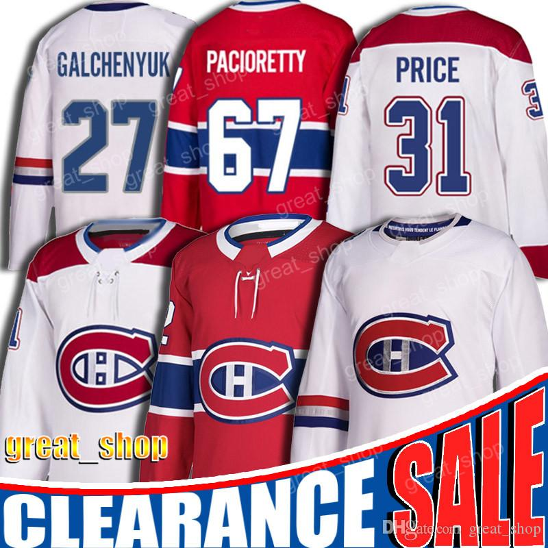 2020 31 Carey Price Jersey 67 Max Pacioretty Jerseys 27 Alex Galchenyuk Jersey Montreal Canadiens Hockey Jersey 92 Jonathan Drouin From Great Shop 31 35 Dhgate Com