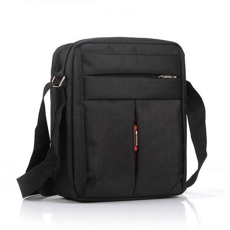 Cool2019 Oxford Man Cloth Zipper Envelope Vertical Section Square Leisure Time Solid Color Will Capacity Single Shoulder Satchel