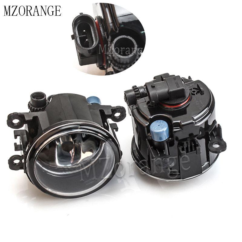 MZORANGE Fog Luz Fog Lamp Para Mitsubishi Outlander L200 Pajero Grandis Galant 2003-2015 luzes de halogéneo 2pcs Super Bright