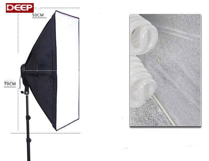 Hanger lighting SoftBox set 1pc light stand 1pc light holder 1pc softbox photo equipment softbox kit 4socket08