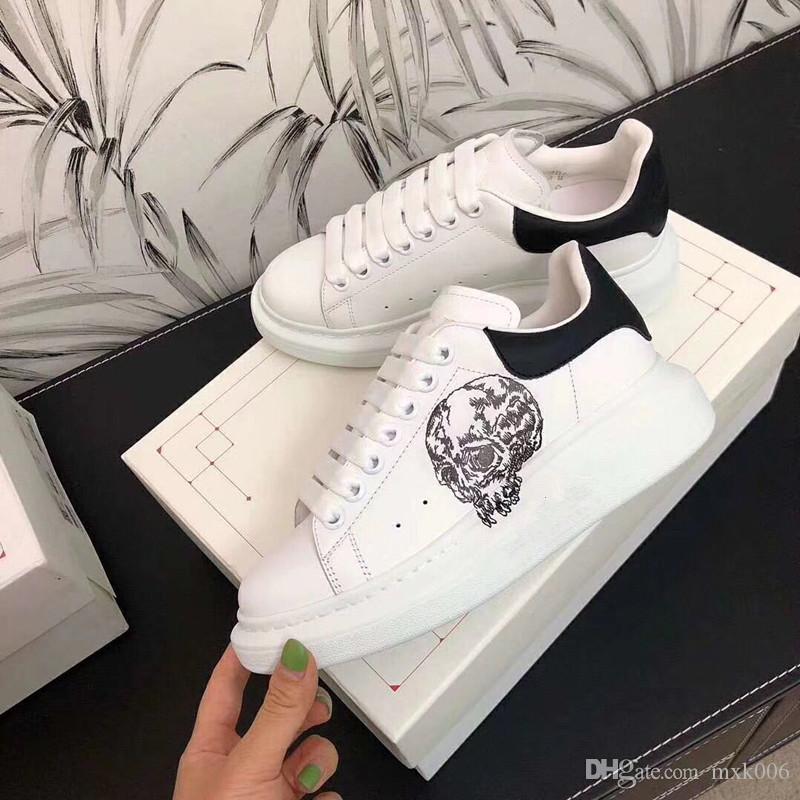Uomo Arena trasporto libero di cuoio delle scarpe da tennis di lusso formatori Mens di marca delle scarpe da tennis degli uomini di marca di modo delle donne scarpe km02