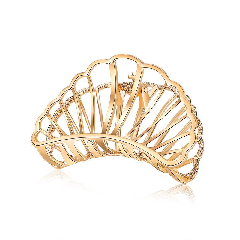 New Fashion Hair Claws for Women Hair Barrette Hairpin Crab Metal Hair Claw Clips for Women Accessories Headwear Ornament