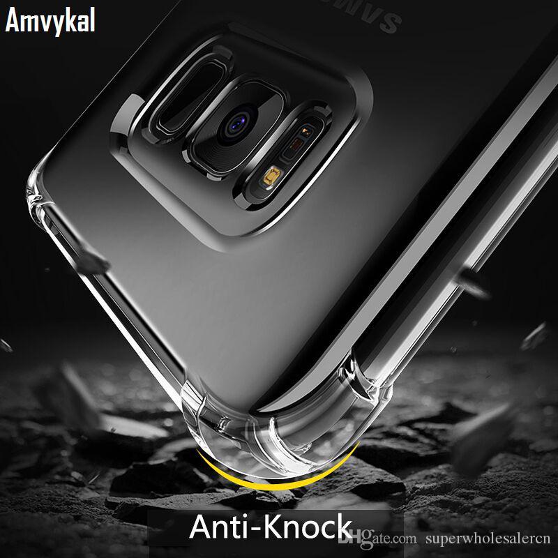 Transparent Silikonhülle für Samsung A10 A20 A30 A40 A50 A60 A70 A10e A20e A2 Kern J2 J4 Kern Stoß- Abdeckung Schutz coque