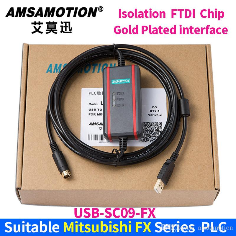 USB-SC09-FX for Mitsubishi FX1N 2N 1S 3U Series PLC Programming Cable Data Download Cable