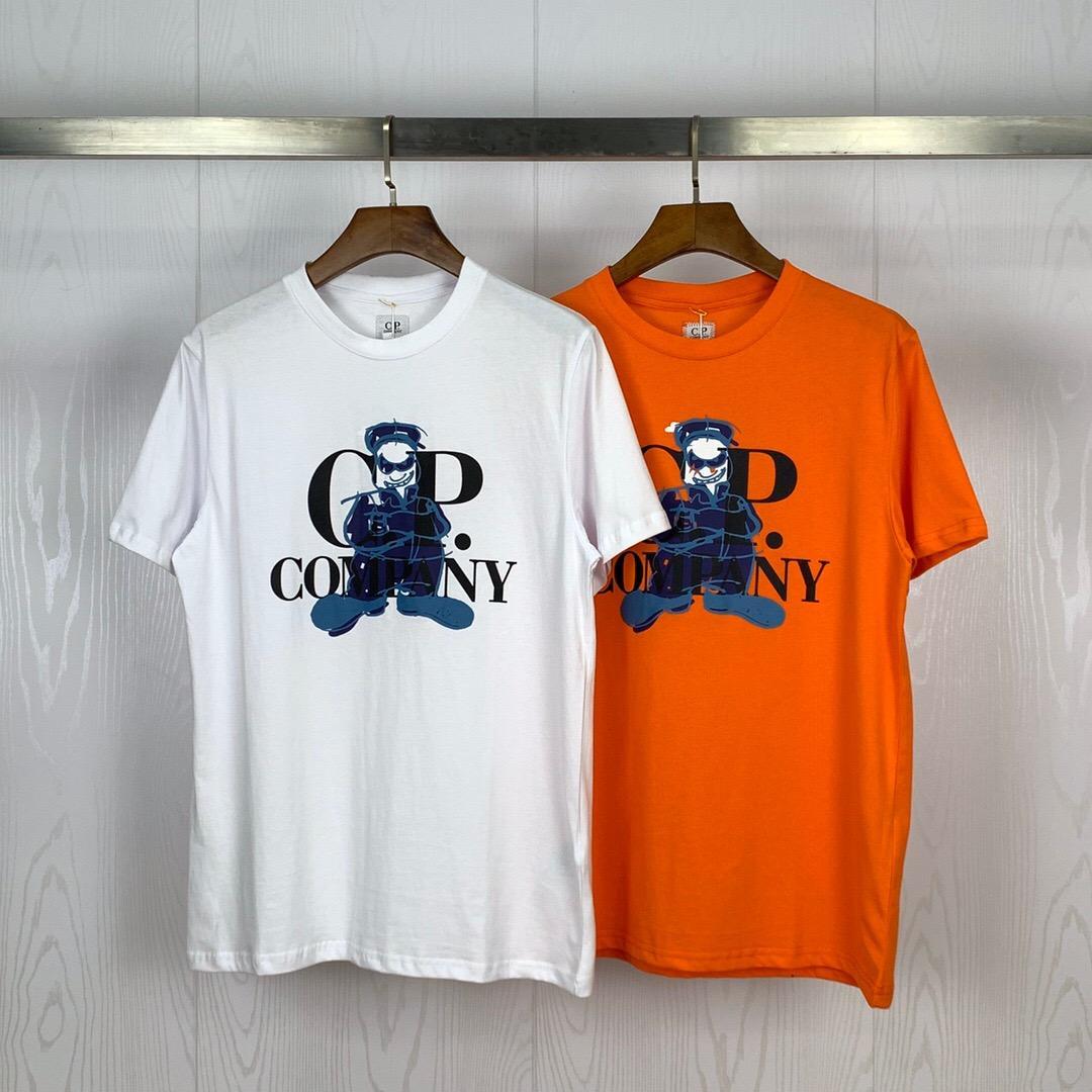 20ss CP maglietta di marca Mens T Shirt Azienda Designer maglietta per gli uomini donne CP Outfit lusso Tees Cp Coats Primavera Estate Pullover 20040201L
