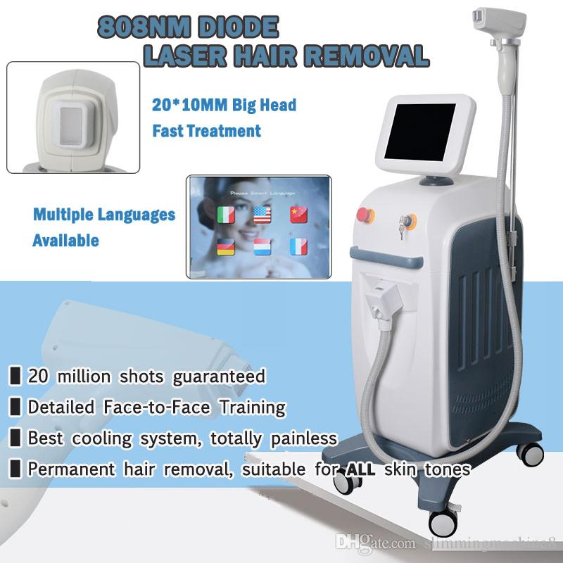 High Cost Effective Alexandrite Laser Machine Speed Portable Diode 808 Machine Price 808nm Diode Laser Hair Removal