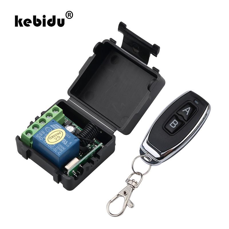 무선 원격 제어 스위치 DC 12V 1 채널의 저렴한 제어 kebidu 1PC RF 송신기 (433) MHz의 원격 제어는 수신기 모듈 릴레이