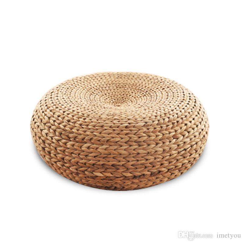 Super 2019 New 100 Natural Rattan Seat Yoga Mat Chair Rattan Stool Ottomans Zen Cushion Living Room Furniture From Imetyou 30 16 Dhgate Com Squirreltailoven Fun Painted Chair Ideas Images Squirreltailovenorg