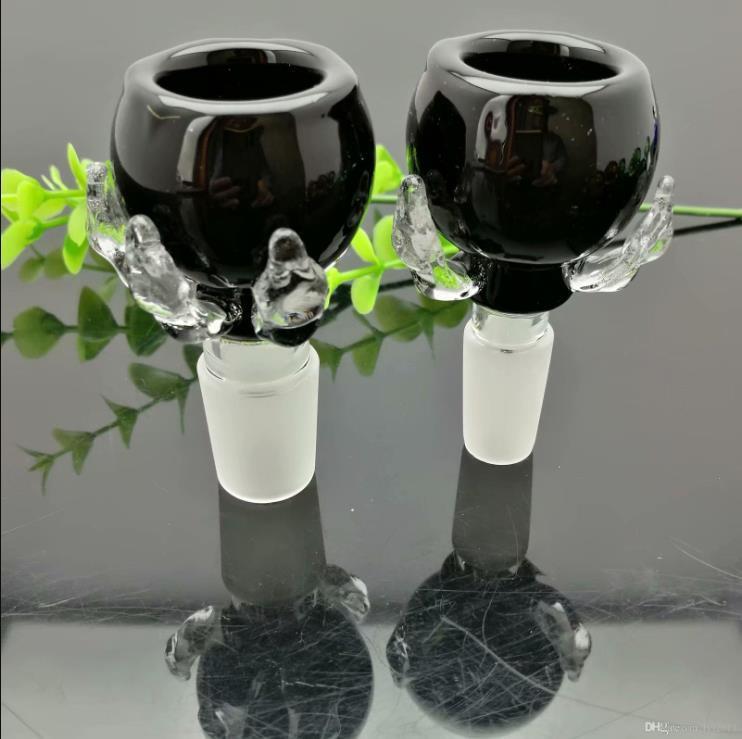 Colore drago artiglio testa di schiuma di vetro bong vetro Oil Burner bicchiere d'acqua tubo di olio Rigs fumatori Rigs