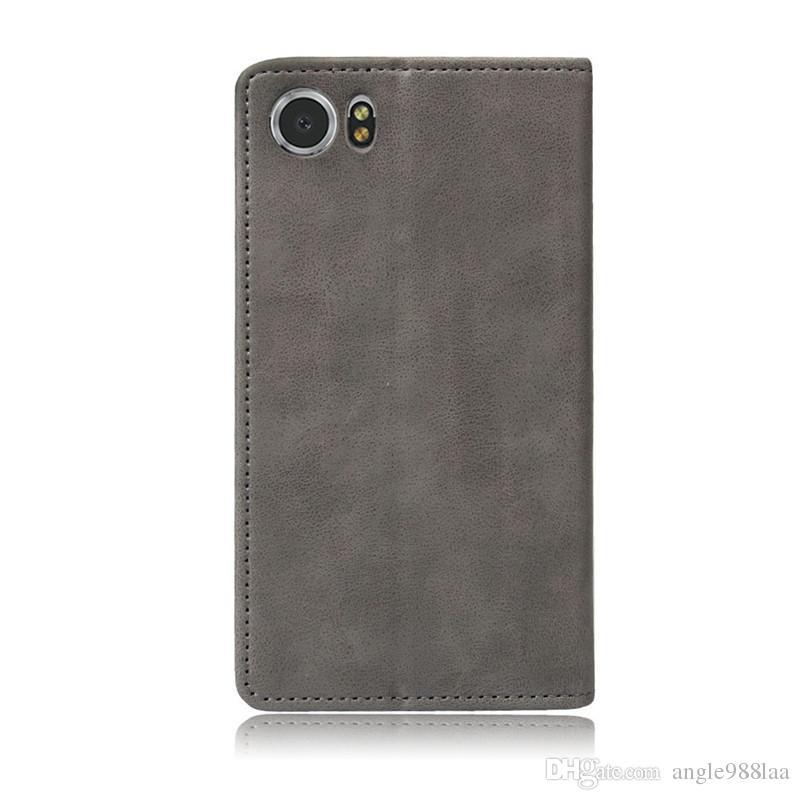 Explosive leather case mad horse wallet protection leather case BlackBerry DTEK70 cellphone case for BlackBerry Keyone, Priv, Aurora, Key