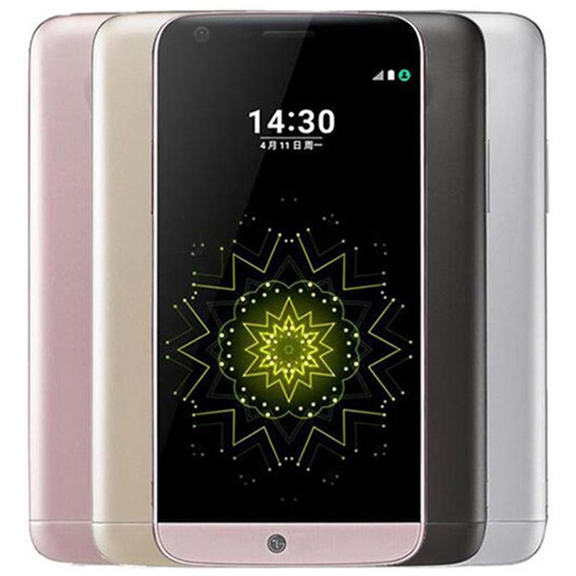 Refurbished Original LG G5 H860N H850 H820 5.3 inch Quad Core 4GB RAM 32GB ROM 16MP LTE 4G Unlocked Smart Mobile Cell Phone DHL 1pcs