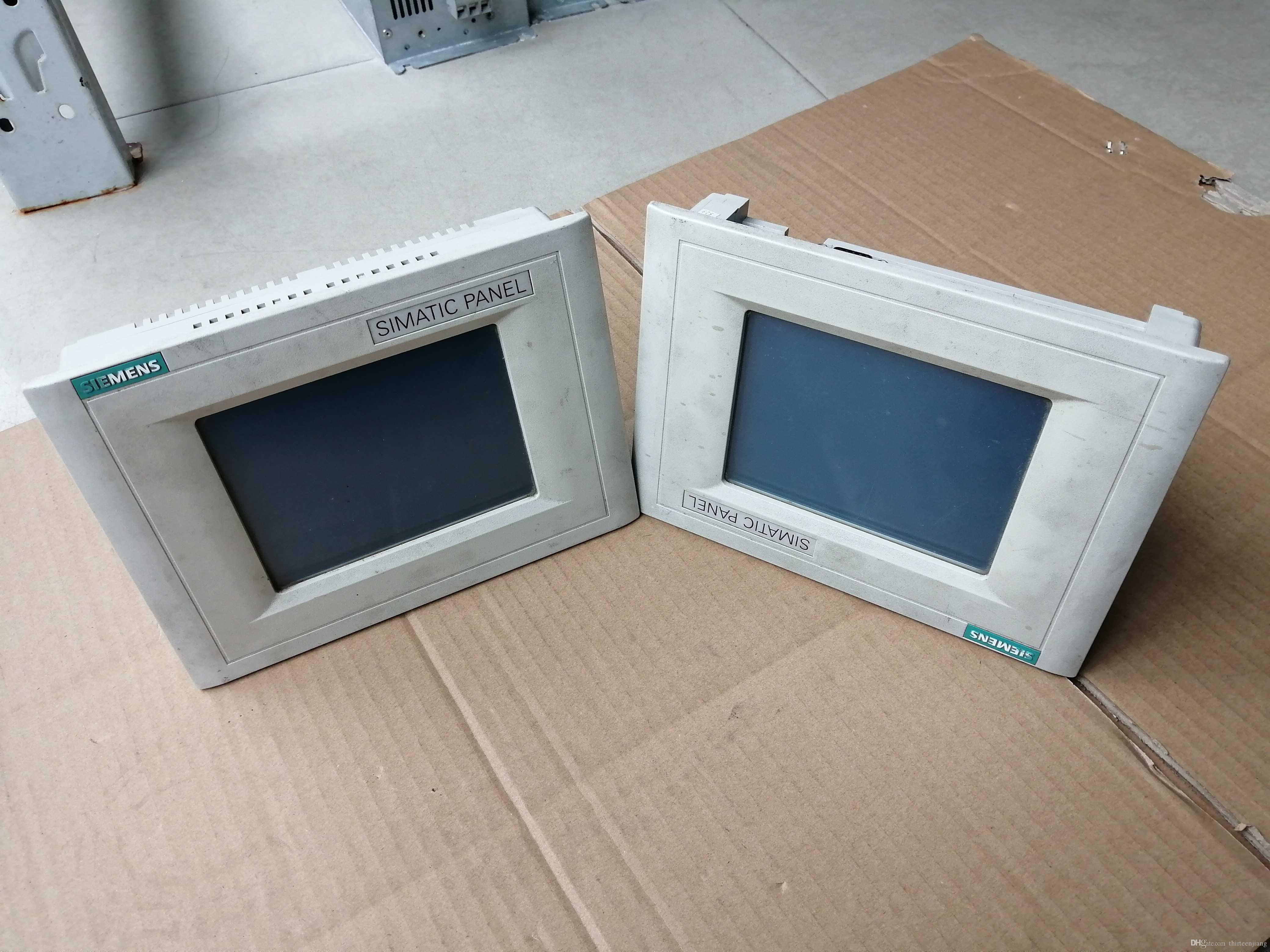 1 PC Original Siemens Simatic HMI painel de toque TP070 6AV6 545-0AA15-2AX0 Usado Em Boas Condições Frete Grátis Expedited