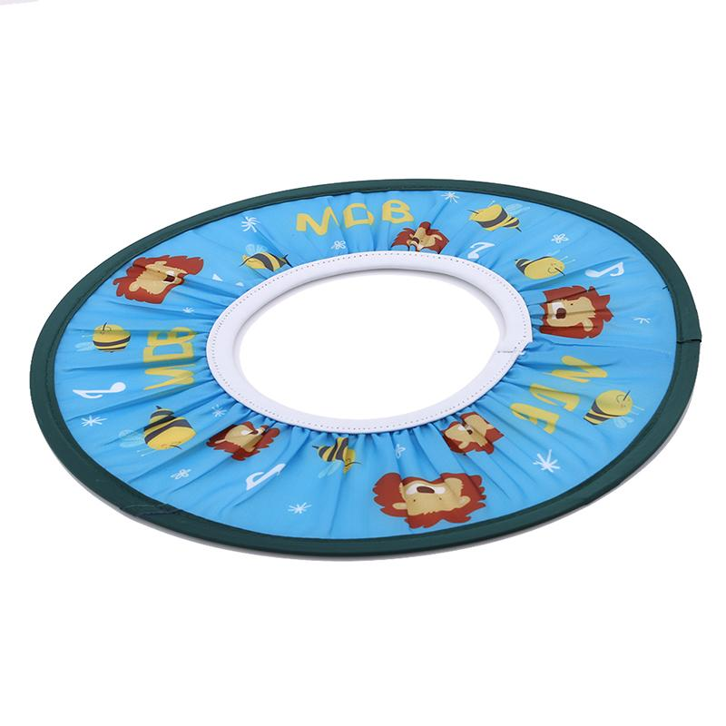 Lavagem macia e segura da criança Crianças Escudo cabelo Caps Baby Shower Cap Hat bebê Shampoo de banho Duche Proteja Cap Shampoo do bebê