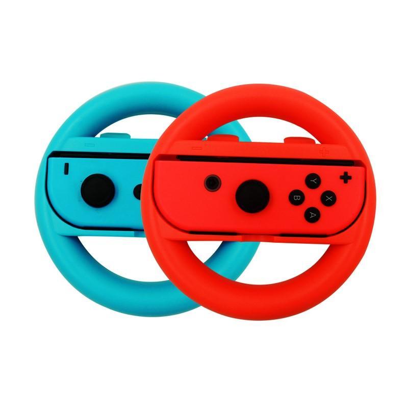 2 게임이 바퀴 NS 액세서리는 기쁨-콘트롤러 조이스틱을 그립 레이싱 게임 스티어링 휠 게임 패드를 위한 Nintend 스위치