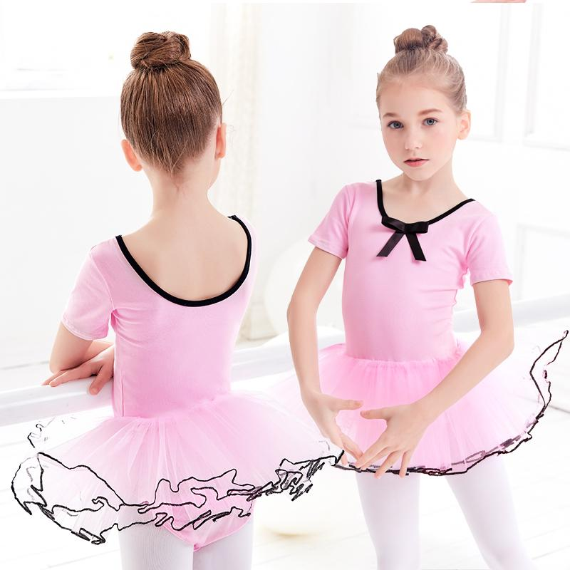 Long/Short Sleeve Ballet Leotard For Kids Ballet Tutu Dance Dress Leotard For Kids Yoga Artistic Gymnastics Use Bailarina