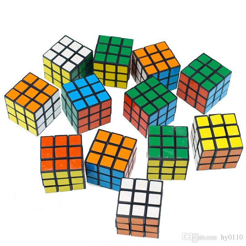 3cm Mini Puzzle-Würfel Magische Würfel Intelligenz Spielzeug Puzzle-Spiel Spielzeug für Kinder Geschenke