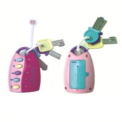 Baby Toy Musical Car Key Vocal Smart Remote Car Voces Juego de imaginación Juguetes educativos para niños Baby Music Toys EEA491