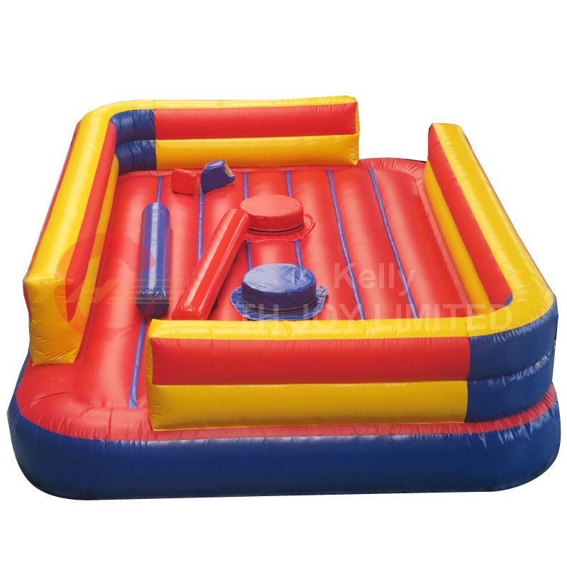 6x4m hecha a medida juego inflable gladiador justas para la venta, juego de deportes justa tubo inflable comercial para el alquiler de carnaval