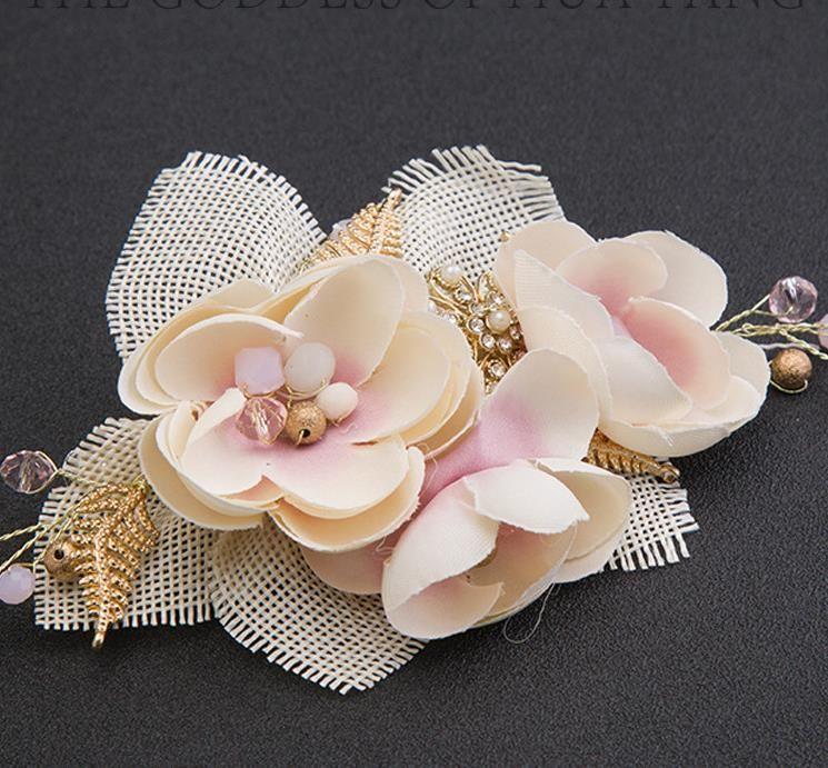 Il matrimonio di del copricapo della sposa di modo della sposa Tornante Sposa Abito Studio e ornamento Accessori